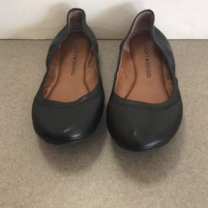 Lucky Brand Emmie Leather Ballet Flat